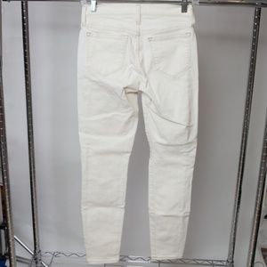 J. Crew Toothpick Ankle Jeans 25